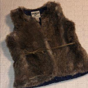 Girls oshKosh vest NEVER WORN!